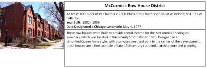 McCormick Row House
