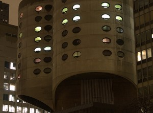 Prentice Women's Hospital. Bertrand Goldberg, 1975. Soon to be demolished.  Image courtesy of flickr user takomabibelot