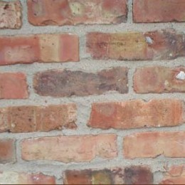Chicago common brick is characterized by its irregular color, irregular shape, and placement where no one could see it.  Ouch.